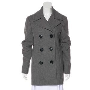 Michael Kors collection double breasted wool coat